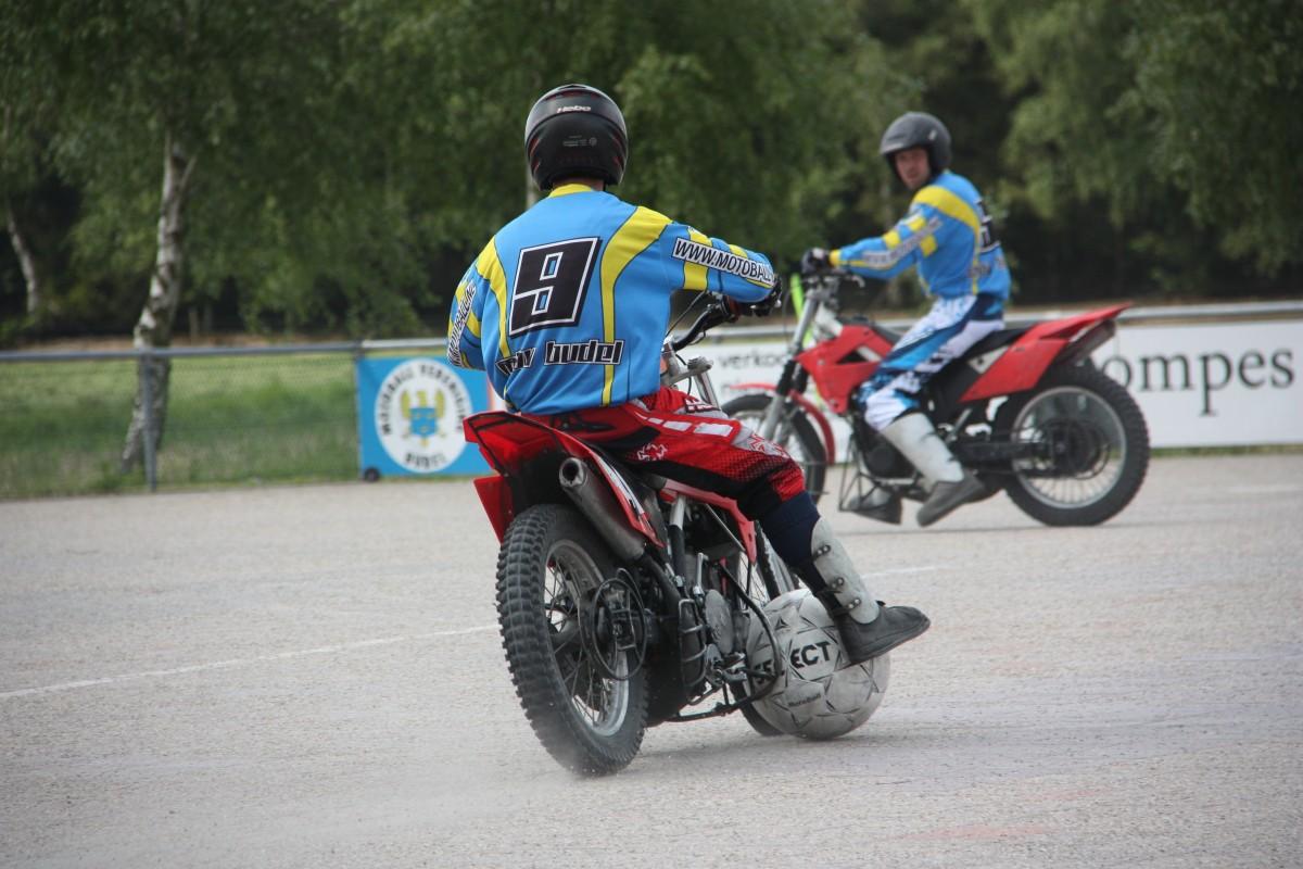 Motoball Vereniging Budel sluit seizoen af met winst