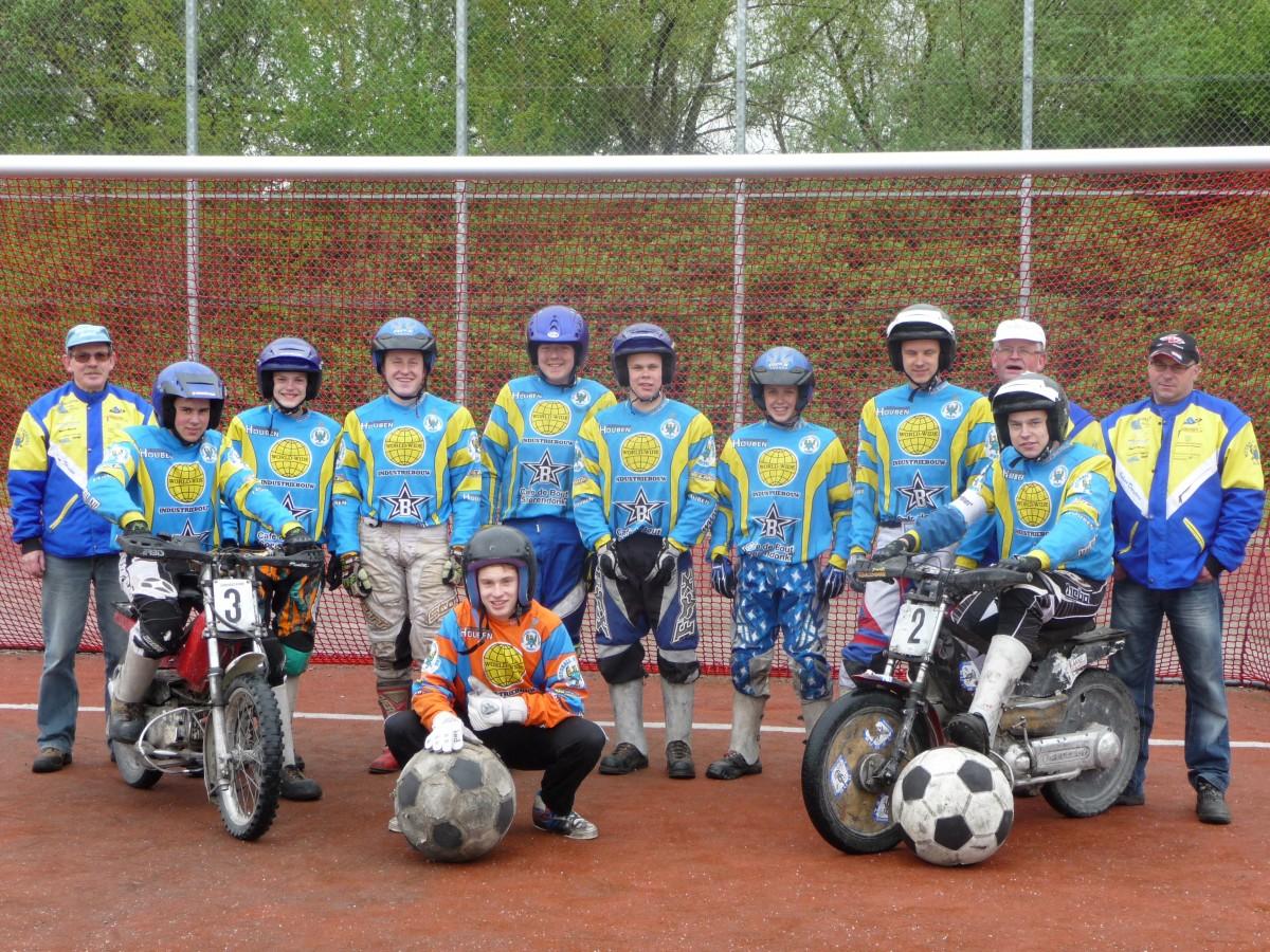 Motoball Vereniging Budel zoekt jeugdkeeper