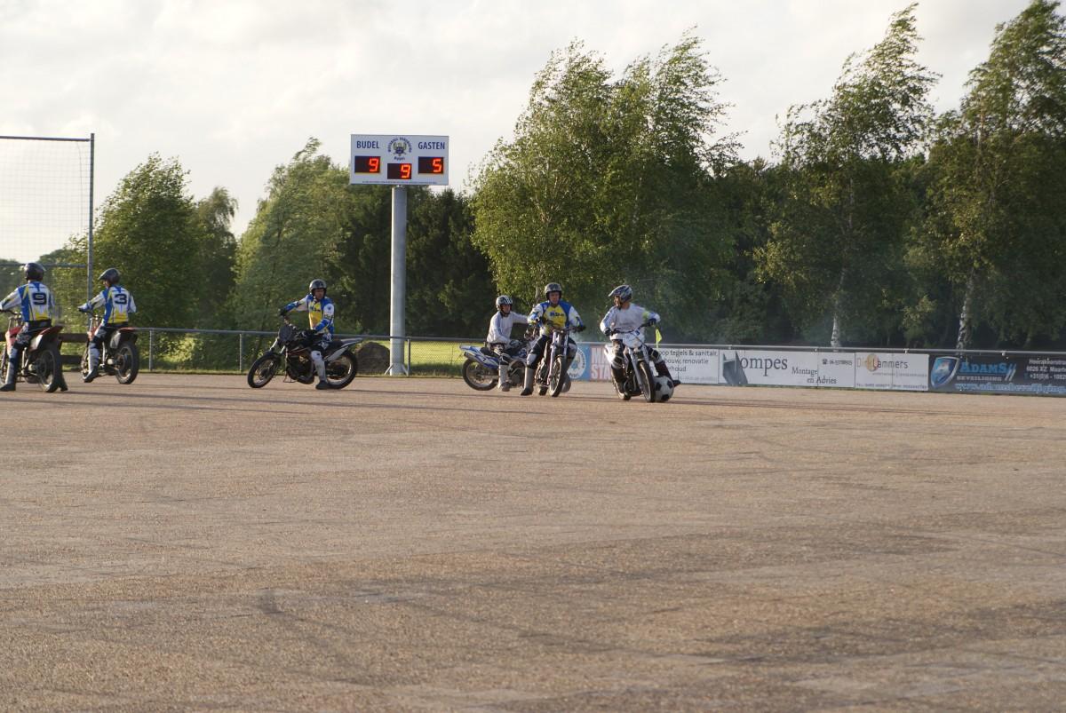 Elektronisch scorebord voor Motoball Vereniging Budel
