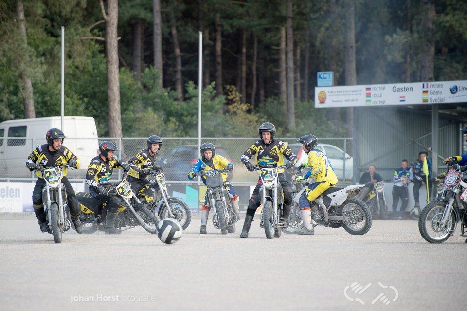 Motoballwedstrijd MBV Budel – MSC Puma Kuppenheim