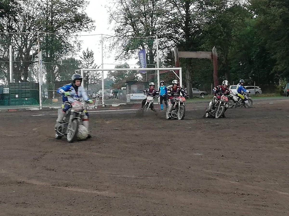 Motoballwedstrijd MBV Budel – MSC Kobra Malchin