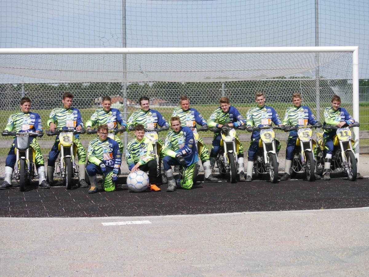 Motoballjeugd Budel wint eigen toernooi