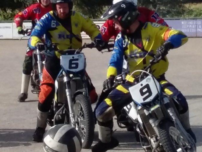 Motoballwedstrijd MBV Budel – MSC Malsch