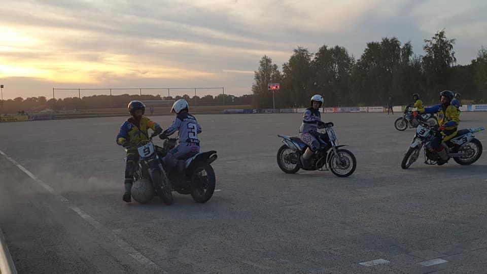 Motoballwedstrijd MBV Budel – MSC Phillipsburg