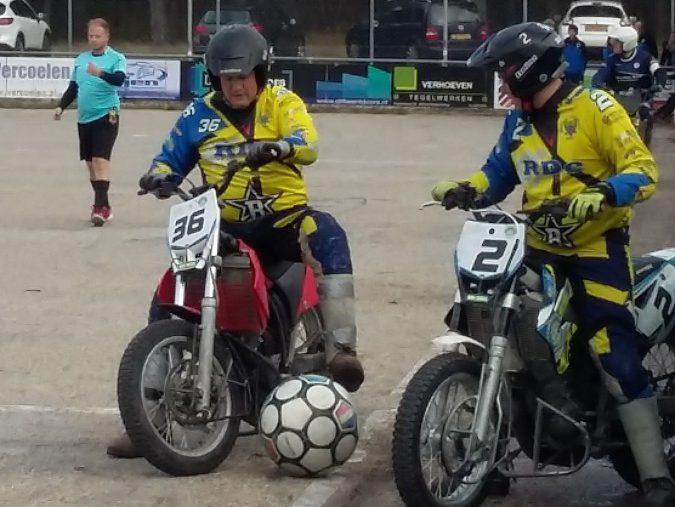 Motoballwedstrijd MBV Budel – MBC Kierspe