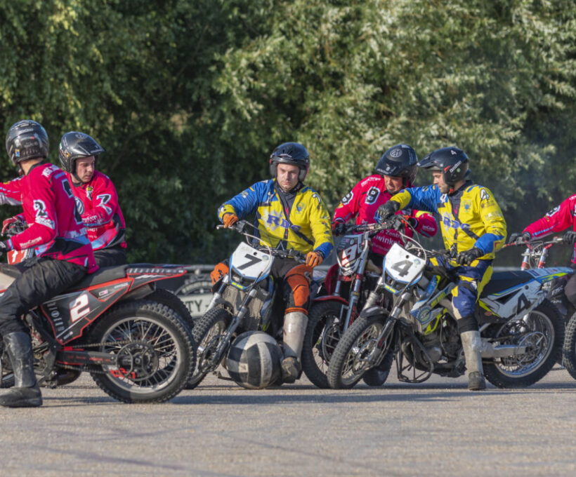 Motoballwedstrijd MBV Budel – Comet Dürmersheim